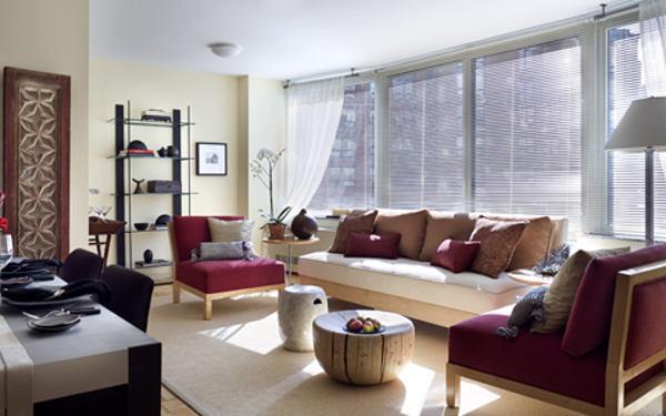 Tribeca Park - model living room