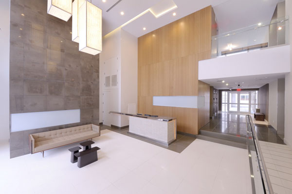 125 North 10th: South Building Lobby