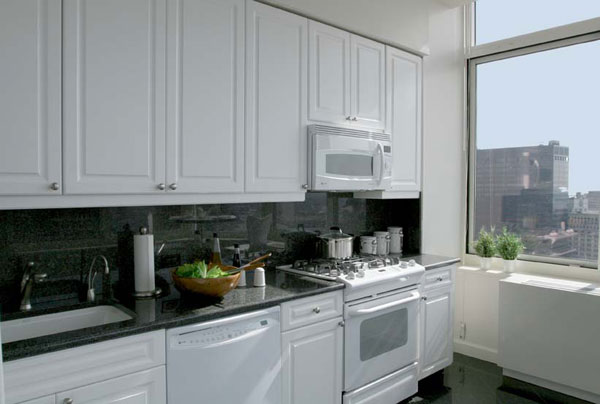 Barclay Tower: Kitchen
