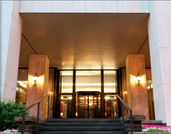 Claridge House Entrance Nybits