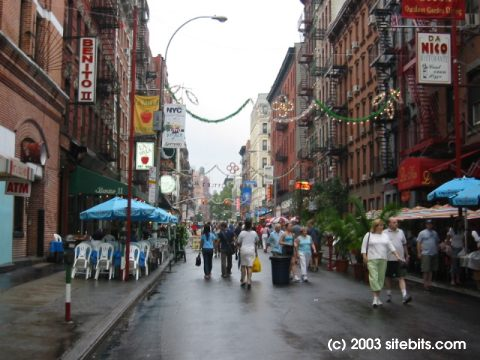 Little Italy Mulberry Street Nybits