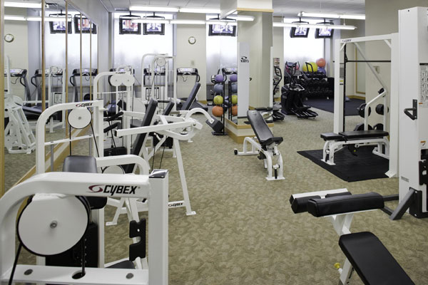 Madison Belvedere: Gym