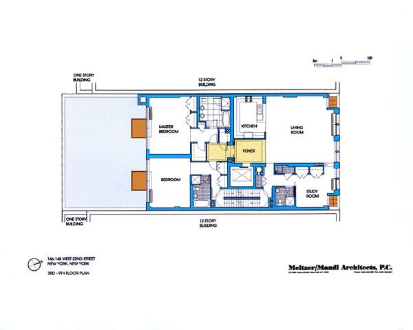 Paradigm: Typical Floorplan
