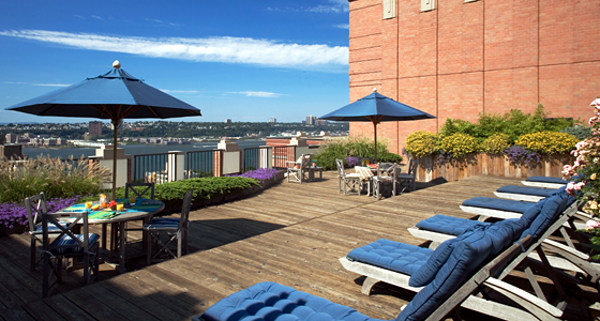 The Lyric: Rooftop deck