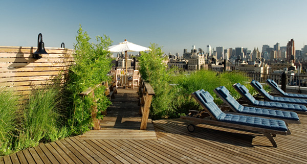 The Sagamore: Roof terrace