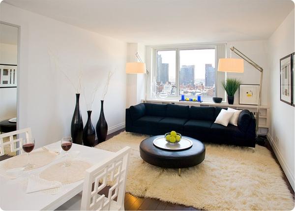 The Metro: Model Living Room