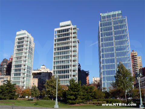 Three Glass Buildings