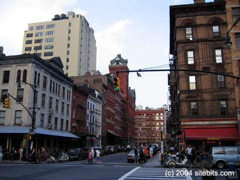 TriBeCa. Greenwich Street.