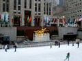 Central Midtown: The ice skating rink.