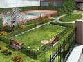 Sessanta: Garden Rendering