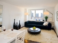 The Metro: Model Living Room